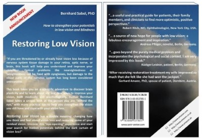 הודעה מפרופ' אמרי עמדי - שיקום ראייה ירודה ספר חדש